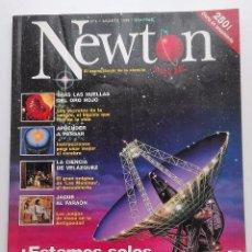 Coleccionismo de Revistas y Periódicos: REVISTA NEWTON Nº 4 AGOSTO 1998 . Lote 57092826