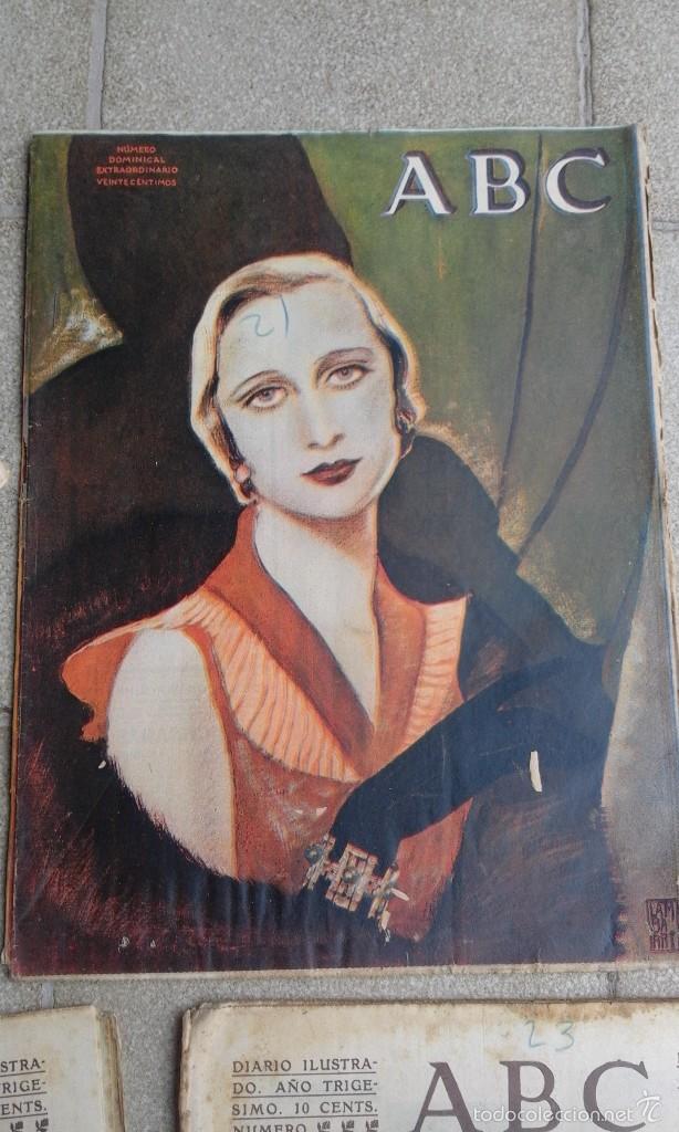 PERIÓDICO DIARIO ILUSTRADO ANTIGUO ABC NÚMERO DOMINICAL EXTRAORDINARIO. 21 ABRIL 1934 (Coleccionismo - Revistas y Periódicos Antiguos (hasta 1.939))