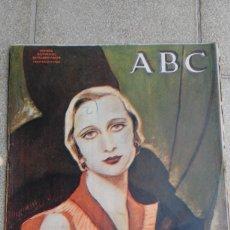 Coleccionismo de Revistas y Periódicos: PERIÓDICO DIARIO ILUSTRADO ANTIGUO ABC NÚMERO DOMINICAL EXTRAORDINARIO. 21 ABRIL 1934. Lote 75019017