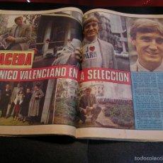 Coleccionismo de Revistas y Periódicos: LOS DEPORTES VALENCIANOS FUTBOL MACEDA EL UNICO ESPAÑOL EN LA SELECCION ESPAÑOLA 12 - 1 -84. Lote 57120285