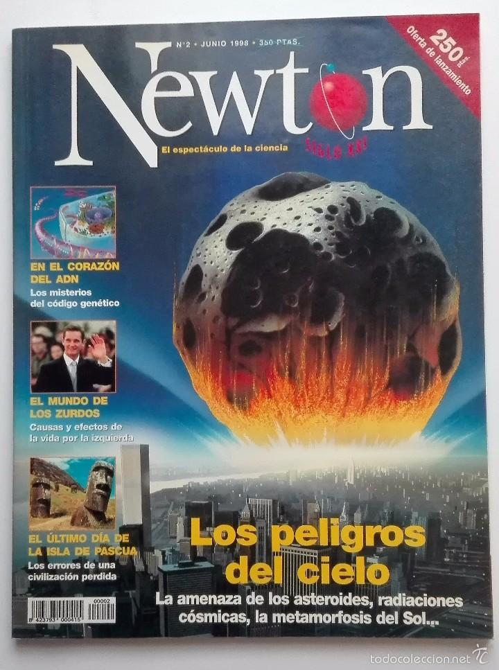 REVISTA NEWTON Nº 2 JUNIO 1998 (Coleccionismo - Revistas y Periódicos Modernos (a partir de 1.940) - Otros)