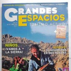 Coleccionismo de Revistas y Periódicos: REVISTA GRANDES ESPACIOS TURISMO ACTIVO ABRIL 2009. Lote 57142649