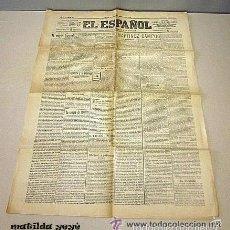 Coleccionismo de Revistas y Periódicos: DIARIO EL ESPAÑOL - DIARIO POLÍTICO, LITERARIO Y DE NOTICIAS. MADRID 23 DE SEPTIEMBRE 1900. ORIGINAL. Lote 57182106