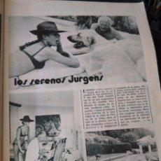 Coleccionismo de Revistas y Periódicos: RECORTE CURD JURGENS KATJA MERLIN . Lote 57242452