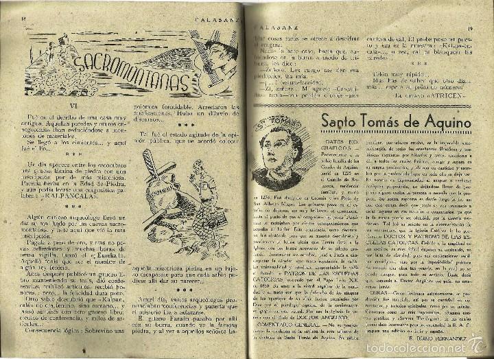 Coleccionismo de Revistas y Periódicos: ANTIGUA REVISTA *CALASANZ*, marzo de 1948. Nº 33. - Foto 2 - 57251669