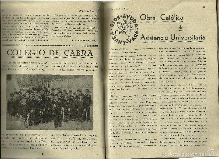 Coleccionismo de Revistas y Periódicos: ANTIGUA REVISTA *CALASANZ*, marzo de 1948. Nº 33. - Foto 3 - 57251669