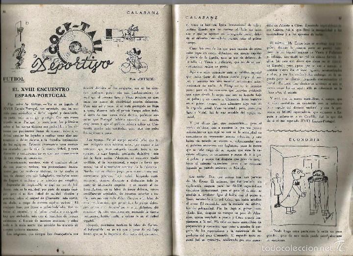Coleccionismo de Revistas y Periódicos: ANTIGUA REVISTA *CALASANZ*, abril de 1948, nº 34. Los Peces Caidos - Foto 3 - 57251984