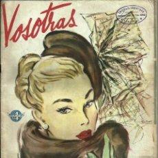 Coleccionismo de Revistas y Periódicos: ANTIGUA REVISTA *VOSOTRAS*, Nº 657, ABRIL DE 1948.. Lote 57268233