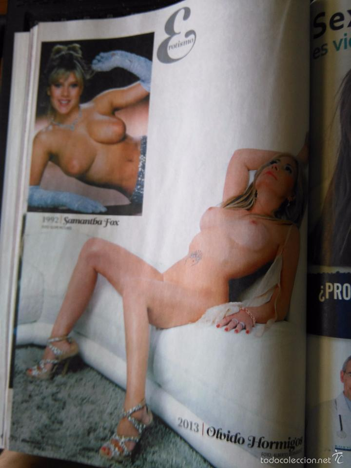 Recorte Pin Up Sexy Nude Desnuda Samantha Fox Olvido Hormigos