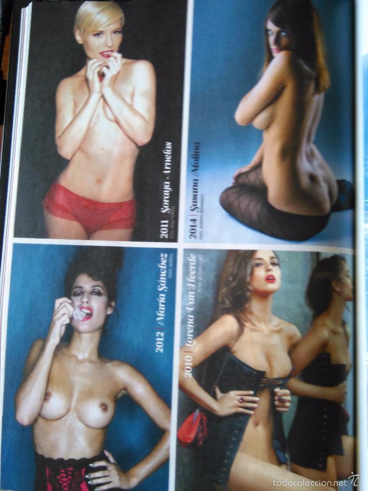 Recorte Pin Up Sexy Nude Desnuda Soraya Arnelas Susana Molina Maria Sanchez Lorena Van Heerde
