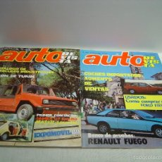 Coleccionismo de Revistas y Periódicos: REVISTA AUTO AÑO 1980 - LOTE DOS NÚMEROS 1184 (EXTRA) Y 1187. Lote 57289274