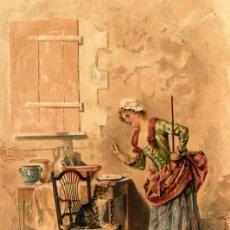 Coleccionismo de Revistas y Periódicos: EL GATO 1887 ILUSTRACION HOJA REVISTA. Lote 57291301