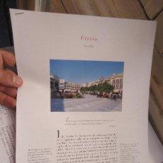 Coleccionismo de Revistas y Periódicos: PUEBLOS UNO A UNO DOCUMENTACION GRAFICA - UTRERA - SEVILLA. Lote 57298514