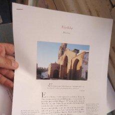 Coleccionismo de Revistas y Periódicos: PUEBLOS UNO A UNO DOCUMENTACION GRAFICA - NIEBLA - HUELVA. Lote 57298587