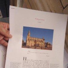 Coleccionismo de Revistas y Periódicos: PUEBLOS UNO A UNO DOCUMENTACION GRAFICA - CHIPIONA - CADIZ. Lote 57298637