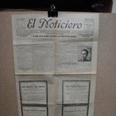 Coleccionismo de Revistas y Periódicos: EL NOTICIERO - ZARAGOZA 14 DE NOVIEMBRE DE 1929. Lote 57334070