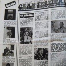 Coleccionismo de Revistas y Periódicos: RECORTE PAUL MCCARTNEY THE BEATLES LOS RINGO STARR MANOLO GALVAN CHER ANTONIO MACHIN MINA NINO BRAVO. Lote 57334691
