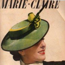 Coleccionismo de Revistas y Periódicos: REVISTA FRANCESA DE MODAS MARIE CLAIRE Nº 57 - 1 ABR 1938. Lote 57341228
