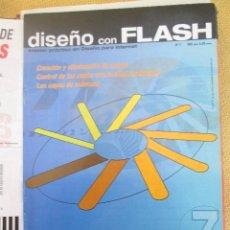 Coleccionismo de Revistas y Periódicos: DISEÑO CON FLASH Nº 7 - OBJETOS EN MULTIPLES CAPAS. Lote 57414452