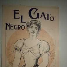 Coleccionismo de Revistas y Periódicos: EL GATO NEGRO. 11 JUNIO 1898. Nº 22 - BARCELONA 1898. Lote 57431819