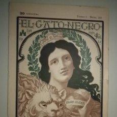 Coleccionismo de Revistas y Periódicos: EL GATO NEGRO. 18 JUNIO 1898. Nº 23 - BARCELONA 1898. Lote 71888202
