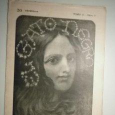 Coleccionismo de Revistas y Periódicos: EL GATO NEGRO. UNA BELLEZA DE CÁDIZ. 27 AGOSTO 1898. TOMO II. Nº 9 - BARCELONA 1898. Lote 57431823