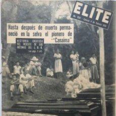 Coleccionismo de Revistas y Periódicos: REVISTA ÉLITE. Lote 57464647