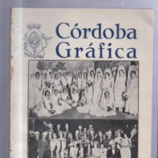 Coleccionismo de Revistas y Periódicos: REVISTA CORDOBA GRAFICA. AÑO VI. Nº 113. ACTUALIDAD LOCAL. Lote 57507585