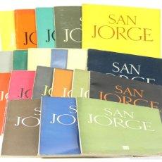 Coleccionismo de Revistas y Periódicos: 7658 - SAN JORGE. REVISTA TRIMESTRAL. 20 EJEM(VER DESCRIP). EDI. D. P. BARCELONA. 1954/1959.. Lote 57512646