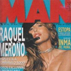 Coleccionismo de Revistas y Periódicos - MAN 171 ENERO 2002, RAQUEL MEROÑO. ESTOPA. INMA DEL MORAL. LISA SNOWDON - 57522887