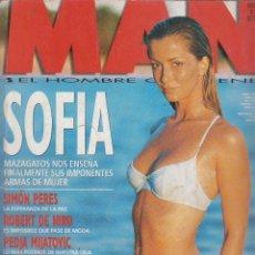 Coleccionismo de Revistas y Periódicos: MAN Nº 103 - POSTER DESPRECABLE: SOFIA MAZAGATOS , MIRA SORVINO , ANNA FALCHI - EDITADA - AÑO 1996. Lote 57522998