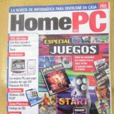 Coleccionismo de Revistas y Periódicos: REVISTA DE INFORMÁTICA HOME PC Nº32 - JULIO 1999·. Lote 57531821