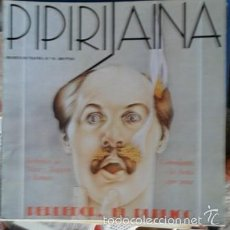 Coleccionismo de Revistas y Periódicos: PIPIRIJAINA, REVISTA DE TEATRO, Nº 15, JULIO AGOSTO 1980. Lote 57541106