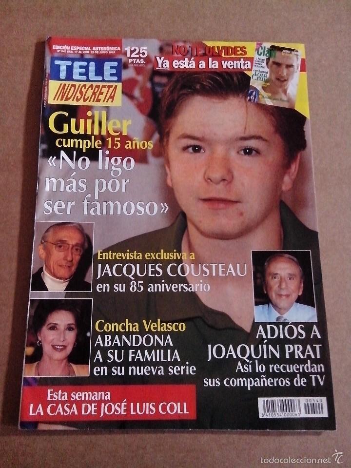 Coleccionismo de Revistas y Periódicos: REVISTA TELEINDISCRETA Nº 540 EN MUY BUEN ESTADO TELE INDISCRETA - Foto 2 - 57544916