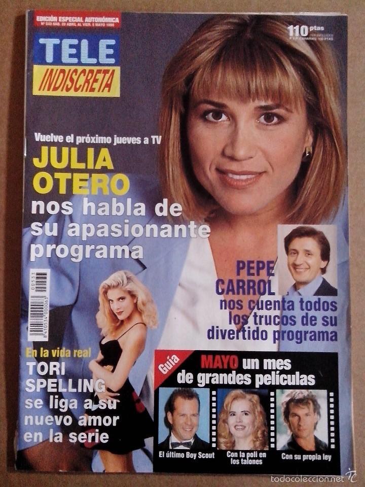 REVISTA TELEINDISCRETA Nº 533 EN BUEN ESTADO TELE INDISCRETA (Coleccionismo - Revistas y Periódicos Modernos (a partir de 1.940) - Otros)