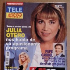 Coleccionismo de Revistas y Periódicos: REVISTA TELEINDISCRETA Nº 533 EN BUEN ESTADO TELE INDISCRETA. Lote 57544980