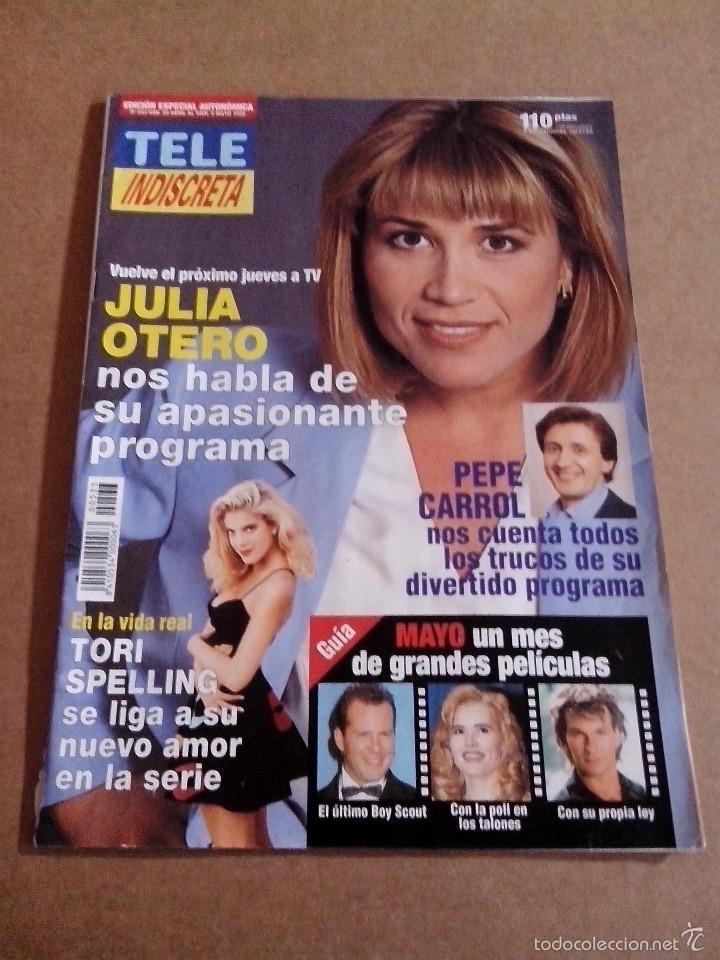 Coleccionismo de Revistas y Periódicos: REVISTA TELEINDISCRETA Nº 533 EN BUEN ESTADO TELE INDISCRETA - Foto 2 - 57544980