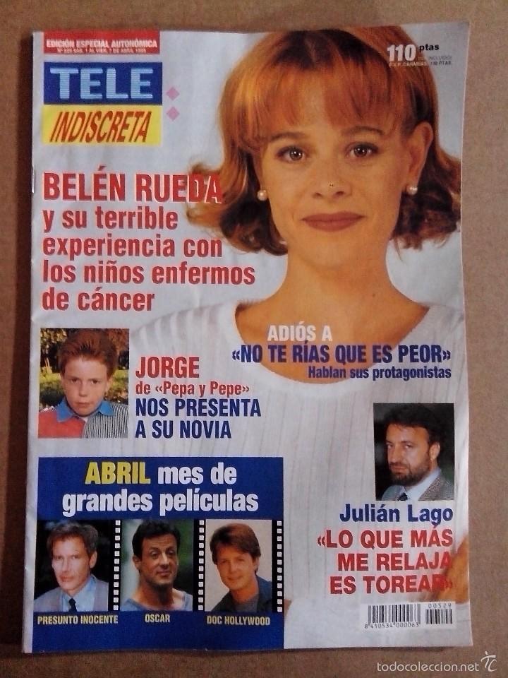REVISTA TELEINDISCRETA Nº 529 BUEN ESTADO TELE INDISCRETA (Coleccionismo - Revistas y Periódicos Modernos (a partir de 1.940) - Otros)