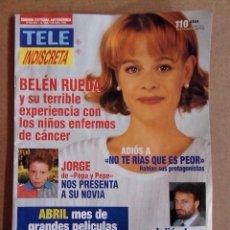 Coleccionismo de Revistas y Periódicos: REVISTA TELEINDISCRETA Nº 529 BUEN ESTADO TELE INDISCRETA. Lote 57545018