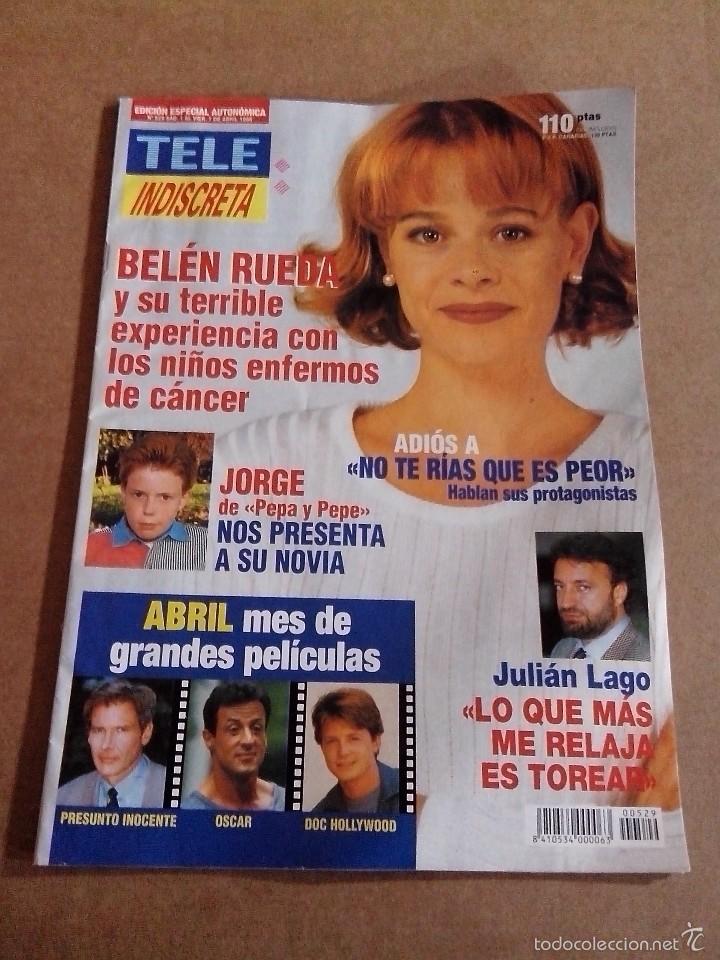 Coleccionismo de Revistas y Periódicos: REVISTA TELEINDISCRETA Nº 529 BUEN ESTADO TELE INDISCRETA - Foto 2 - 57545018