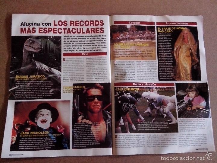 Coleccionismo de Revistas y Periódicos: REVISTA TELEINDISCRETA Nº 529 BUEN ESTADO TELE INDISCRETA - Foto 4 - 57545018