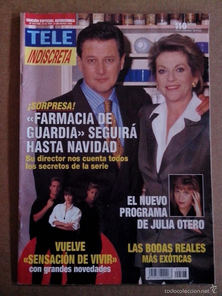 REVISTA TELEINDISCRETA Nº 528 BUEN ESTADO TELE INDISCRETA (Coleccionismo - Revistas y Periódicos Modernos (a partir de 1.940) - Otros)