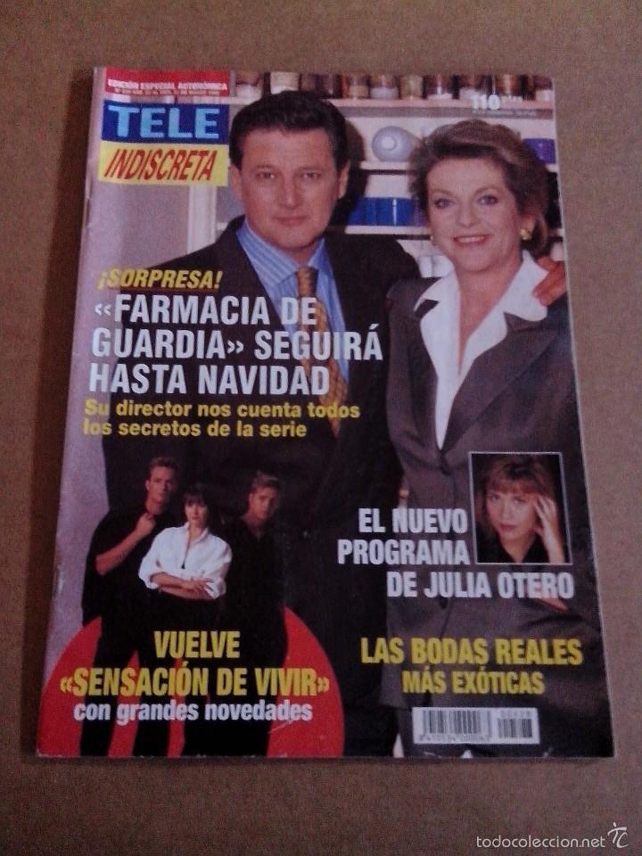 Coleccionismo de Revistas y Periódicos: REVISTA TELEINDISCRETA Nº 528 BUEN ESTADO TELE INDISCRETA - Foto 2 - 57545083