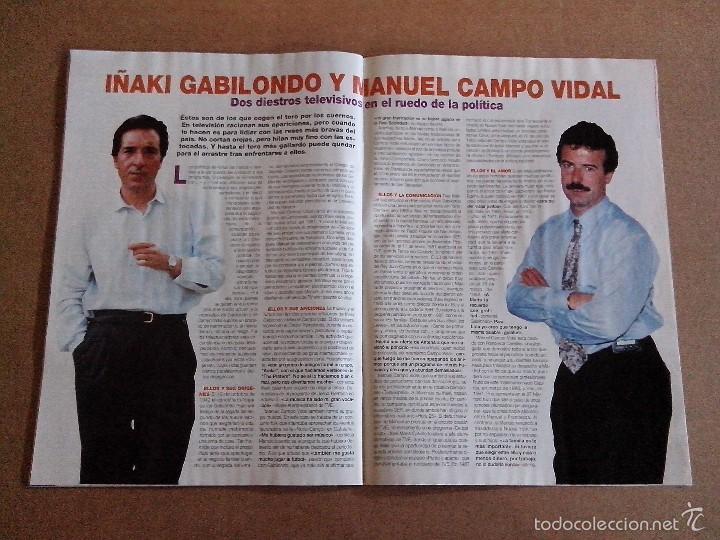 Coleccionismo de Revistas y Periódicos: REVISTA TELEINDISCRETA Nº 528 BUEN ESTADO TELE INDISCRETA - Foto 5 - 57545083