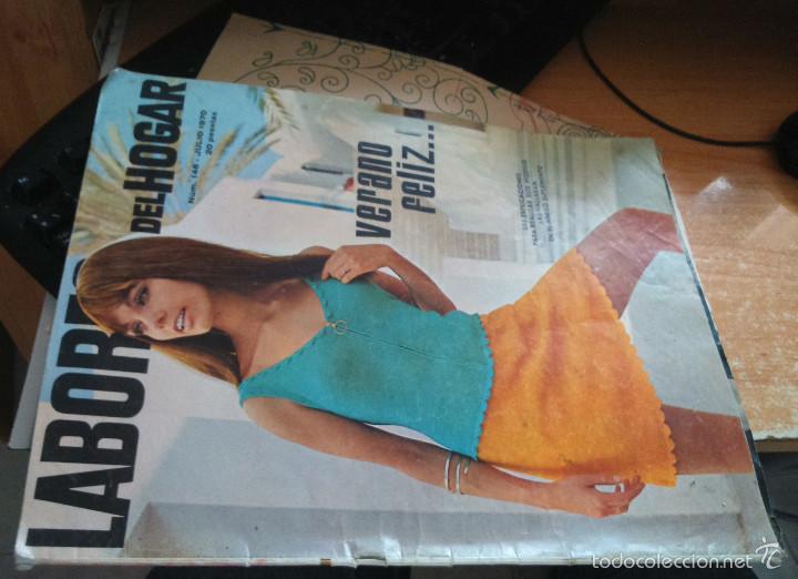 LABORES DEL HOGAR Nº 146 JULIO 1970 (Coleccionismo - Revistas y Periódicos Modernos (a partir de 1.940) - Otros)