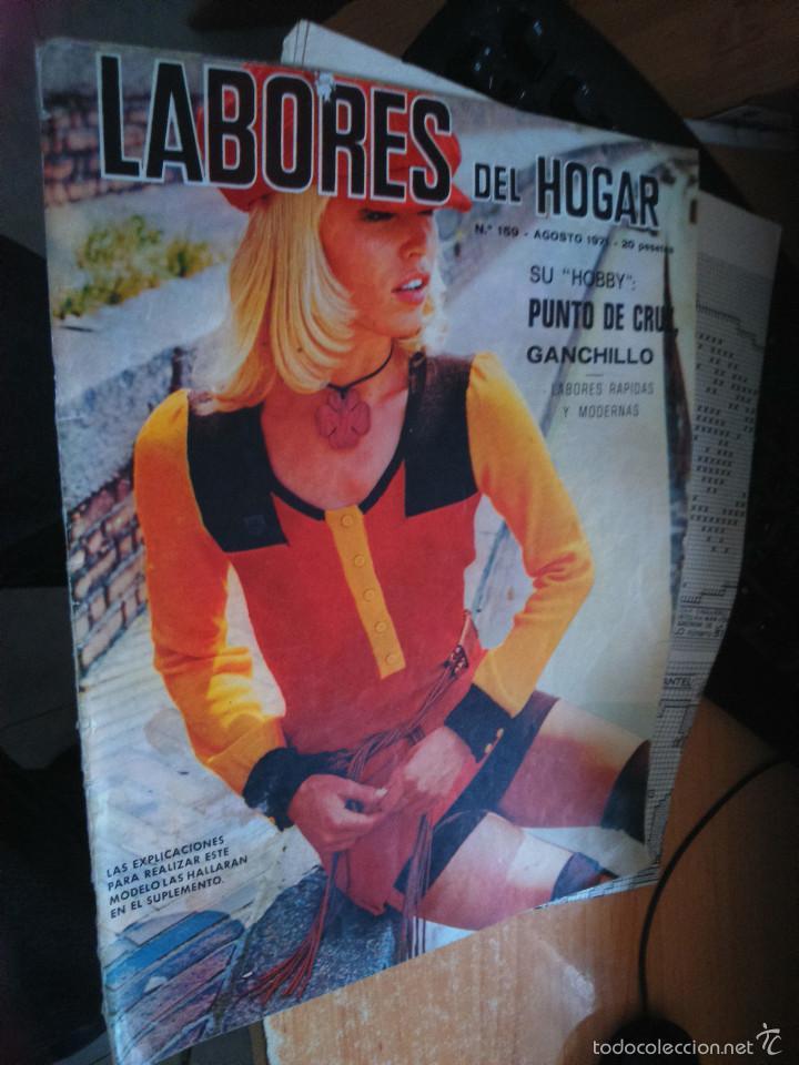 LABORES DEL HOGAR Nº 159 AGOSTO 1971 (Coleccionismo - Revistas y Periódicos Modernos (a partir de 1.940) - Otros)