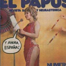 Coleccionismo de Revistas y Periódicos: EL PAPUS. REVISTA DE HUMOR NMERO 027. NMERO EXTRA DEDICADO AL FESTIVAL DE EUROVISIN. Lote 55642855
