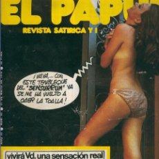 Coleccionismo de Revistas y Periódicos: EL PAPUS. REVISTA DE HUMOR NMERO 085. SENSURRN. Lote 55642906