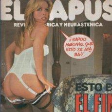 Coleccionismo de Revistas y Periódicos: EL PAPUS. REVISTA DE HUMOR NMERO 123. EL FIN DEL MUNDO. Lote 55642920