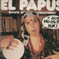 Coleccionismo de Revistas y Periódicos: EL PAPUS. REVISTA DE HUMOR NMERO 012. AO NUEVO. Lote 55642924